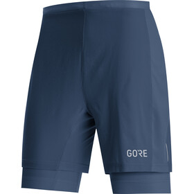 GORE WEAR R5 2en1 Shorts Hombre, deep water blue